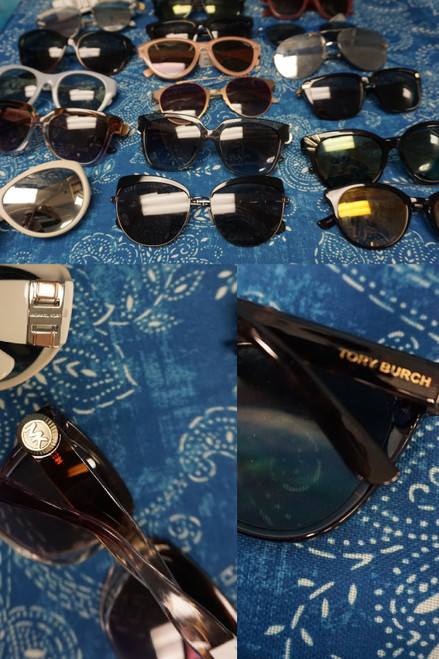 24pc Sunglasses! C*ACH McQueen KAREN WALKER FELIPE Tory Burch #23046M (Q-3-3)