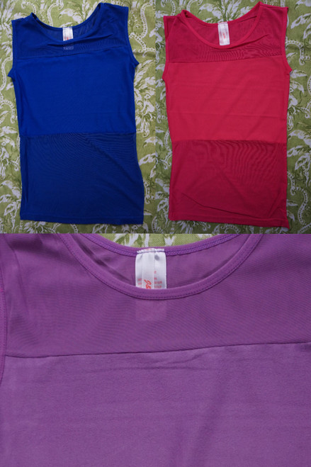 37pc Womens Active Tanks ~ 4 Colors #23094P (U-4-1)