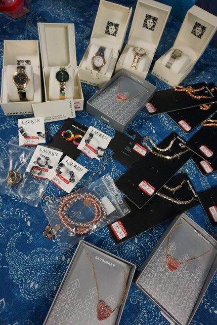 26pc RALPH! Anne Klein Watches +REAL DIAMOND Necklaces #23102Q (U-5-3)