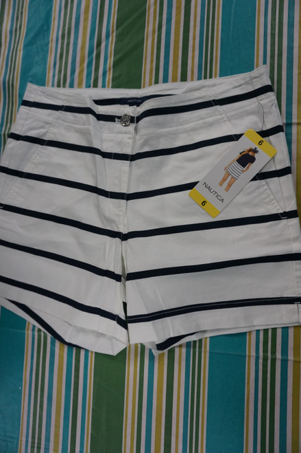 11pc Womens NAUTICA Shorts Size 6 DUPLICATES #23195x (I-1-4)