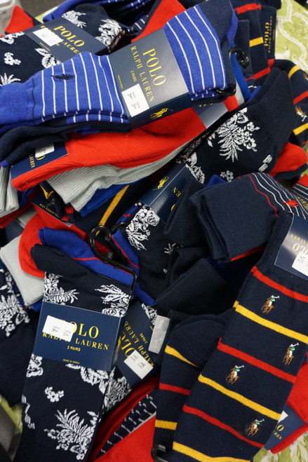 23+prs Mens RALPH Sock Sets & Socks #23222z (Q-5-1)