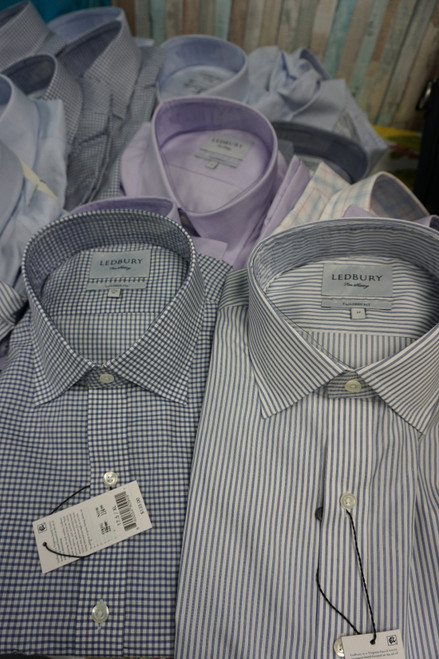 28pc Mens LEDBURY Button-Up Shirts #23231z (Y-2-2)