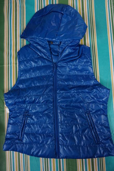 28pc Womens C'EST TOI Vest Jacket ROYAL BLUE Size S & M  #23281c (Y-2-4)