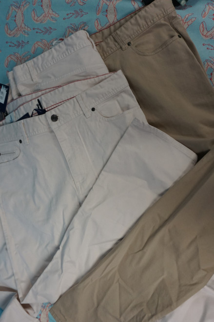 7pc Mens *ONLY JOHNNIE-O* Pants ~ 2 COLORS #23346F (X-3-2)