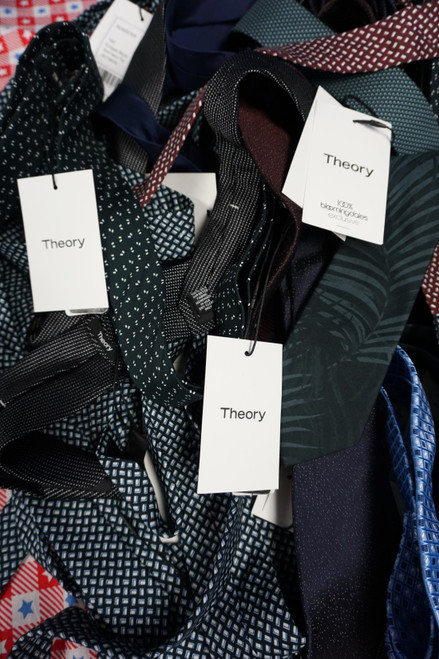 25pc Mens ONLY THEORY Neck Ties #23412M (I-2-4)