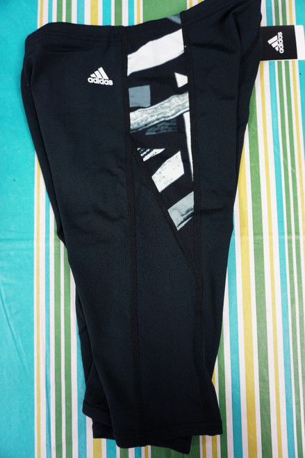12pc Boys ADIDAS Jammer SWIM TRUNKS Size 28 / XL #23426N (Y-1-1)