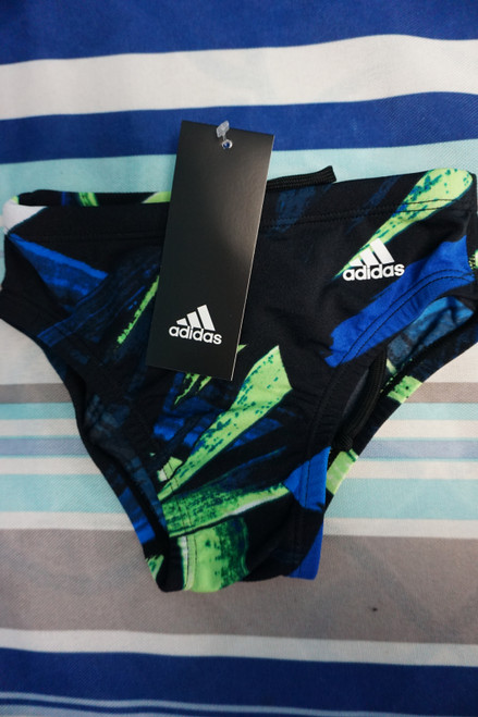 16pc Boys ADIDAS Swim Briefs Size 26 / LARGE #23429N (U-6-3)