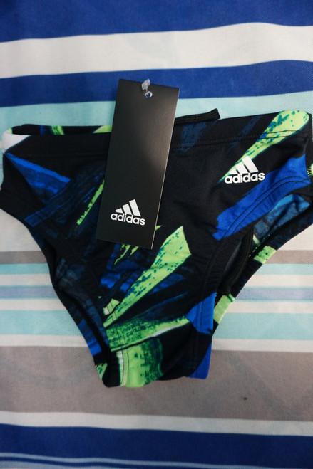 19pc Boys ADIDAS Swim Briefs Size 28 / XL #23430N (X-2-2)