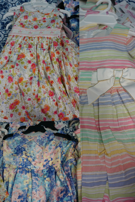 26pc Girls Designer Dresses from BL**MINGDALES #23506Q (K-1-1)