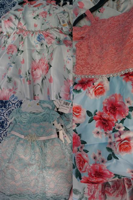 20pc Girls BL**MINGDALES Designer Dresses #23507Q (U-2-3)
