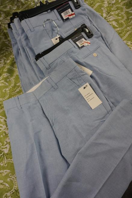 11pc BOYS Tommy Hilfiger Dress Slacks Pants Blue #23520R (Z-3-2)
