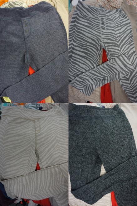 33pc Womens American Eagle Waffle Thermal PJ Pants #23539T (P-1-1)