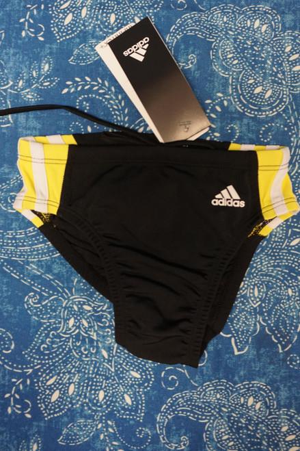 10pc Boys ADIDAS Swim Briefs Size 22 / SMALL #23503P (K-2-3)