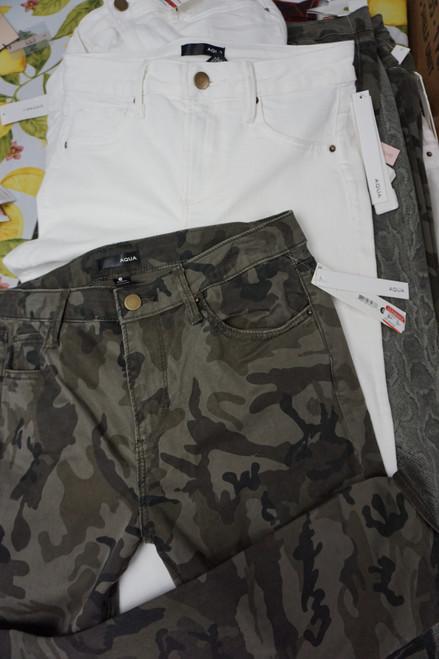 20pc Womens AQUA Brand Jeans & Pants #23592w (X-6-2)