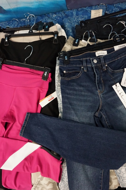 17pc BL**MINGDALES Womens Jeans Pants Leggings #23621Y (W-4-5)