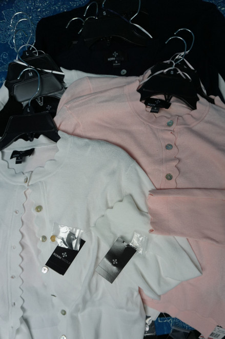17pc RONNI NICHOLE Duplicate Summer Cardigan Jackets #23622Y (Q-4-1)