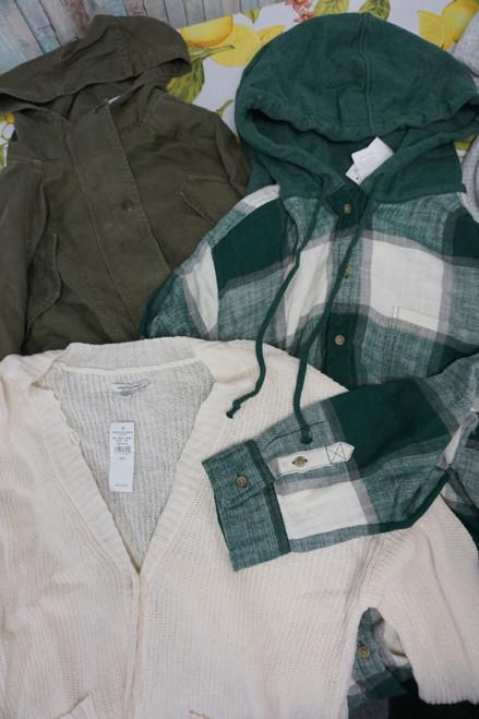 13pc American Eagle Womens Jackets & Cardigans #23627Y (U-2-4)