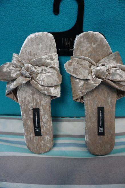 21prs Womens INC Velvet Slide Sandal Slippers ALL SIZES! #23668B (I-2-1)