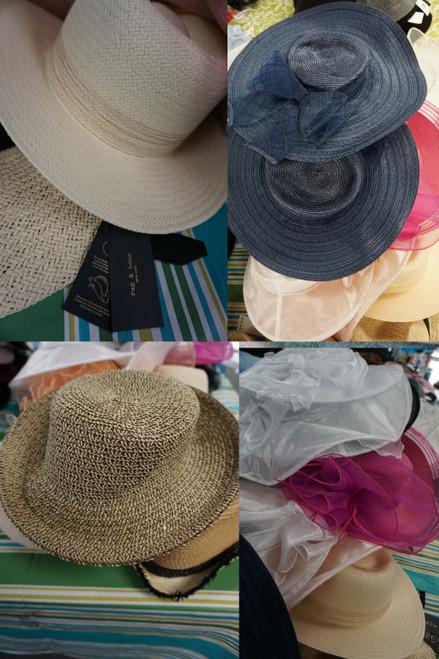 26pc Sunhats / Summer Hats RAG & BONE Hat Attack AUG HAT CO #23682B (H-4-2)