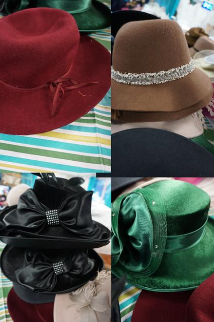 14pc Hats HELEN KAMINSKI Lack of Color JOSETTE Nine West #23683B (B-10-5)