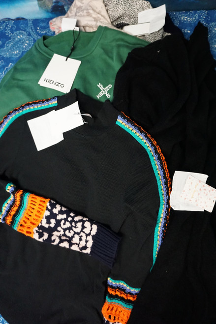 14pc Sweaters / Cardigans FREE PEOPLE Cashmere KENZO LINI #23733E (G-1-4)
