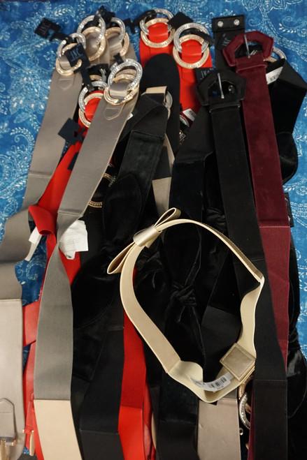 27pc M*CYS Womens STRETCH Belts #23757F (B-7-6)
