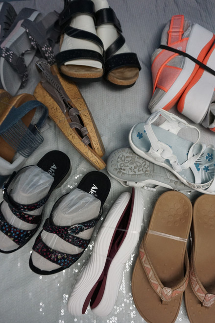 9prs Sandals! ALEGRIA Vionic RYKA earth origins CLARKS #23776F (W-2-1)