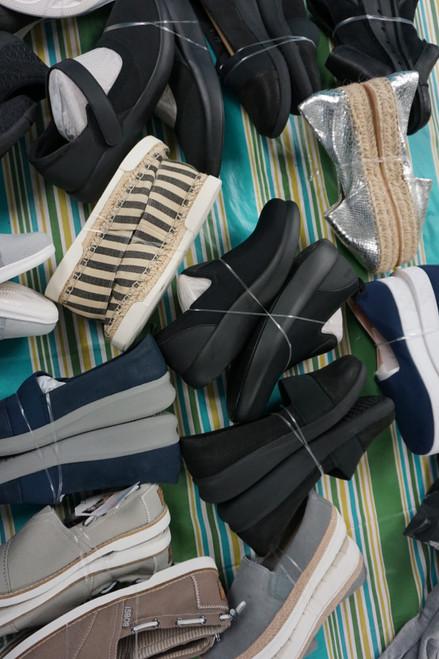 15prs Slip-On Shoes! ALEGRIA Bobs Sketchers CLARKS #23780F (C-5-3)