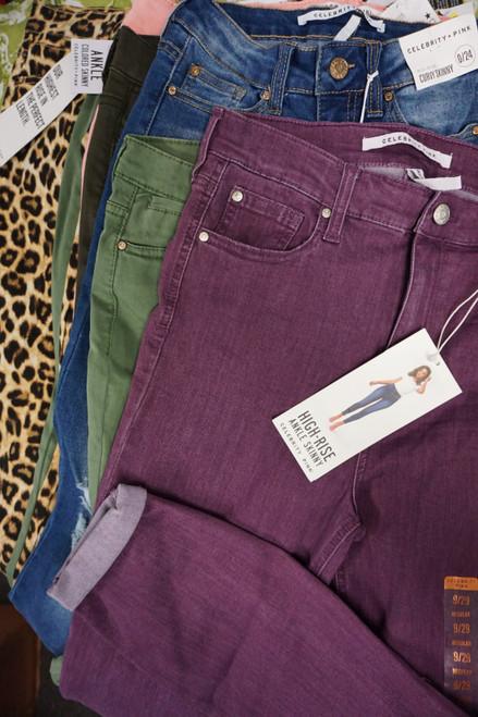 15pc *ONLY CELEBRITY PINK Brand* Jeans #23797G (U-4-4)
