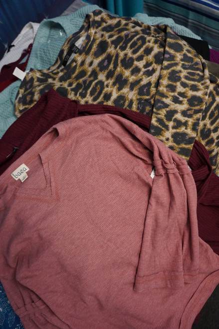 29pc BIG STORE Womens Thermal Tops #23941R (v-6-5)