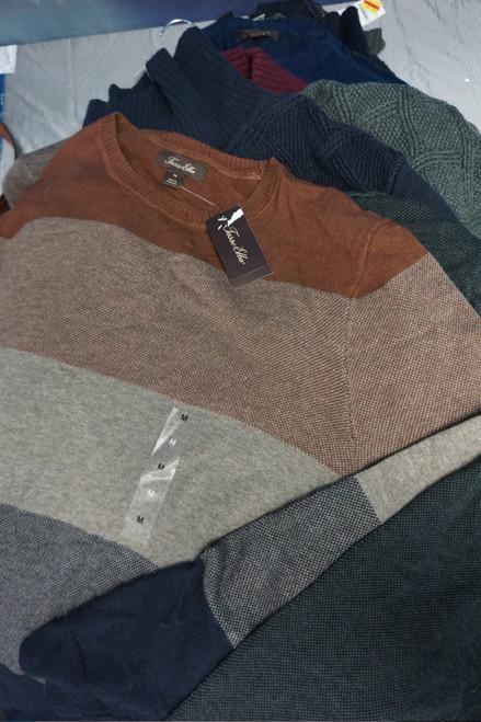 28pc MENS *ONLY TASSO ELBA* Sweaters #24006w (X-4-5)
