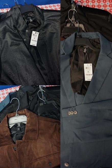 11pc MENS *ONLY ALFANI BRAND* Jackets #24009w (O-4-3)