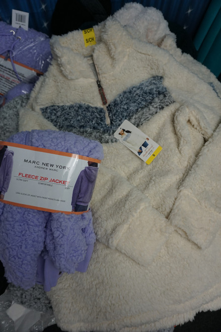 15pc SHERPA / FUR Jackets & Pullovers MARC NY & More #24054z ( N-3-2)