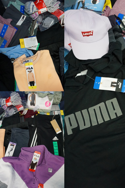 30+pc Womens ACTIVE Puma FILA Adidas DANSKIN #24065A (P-5-2)