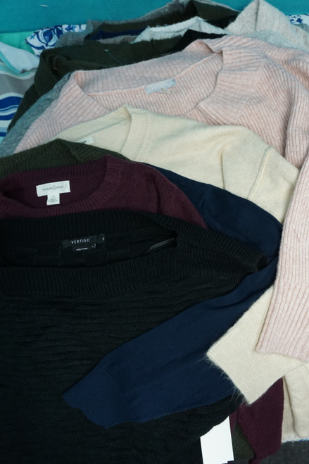 24pc BIG STORE Womens Sweaters  #24123d (V-4-4)