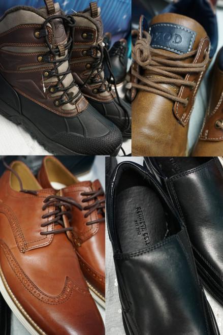 7prs Mens Shoes & Boots KHOMBU Ken Cole IZOD Sperry #24131E (K-4-6)