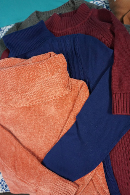 19pc Lands End Womens Sweaters #24133F (F-2-3)