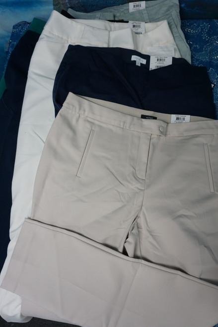 11pc Womens Dress / Cloth Pants INC Charter #24149E (B-4-2)