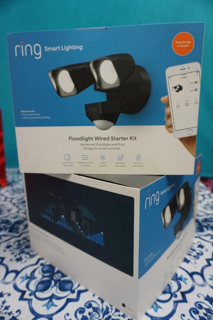 1 ring Smart Lighting Floodlight CAMERA ******WHITE***** #24180H (P-2-4)
