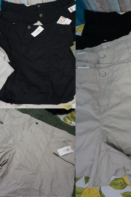 24pc PLUS SIZE Style & Co Shorts ~ 3 Styles DUPLICATES #24192H ( X-3-5)