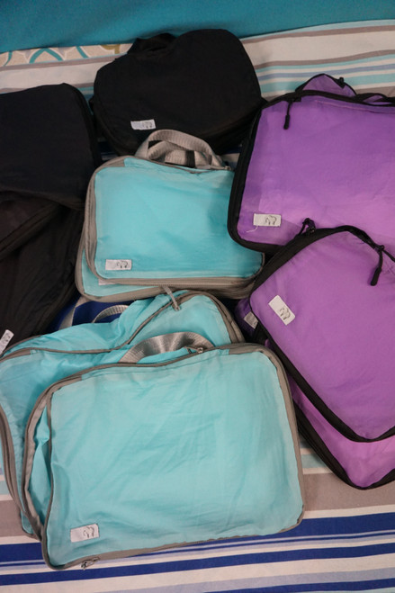 19pc Elephant Brand Expandable Travel Bags LARGE & SMALL #24205J (M-4-1)