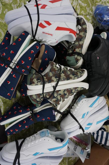 15prs Mens + Womens Reebok & Bobs Sketchers Sneakers #24220K (P-4-6)