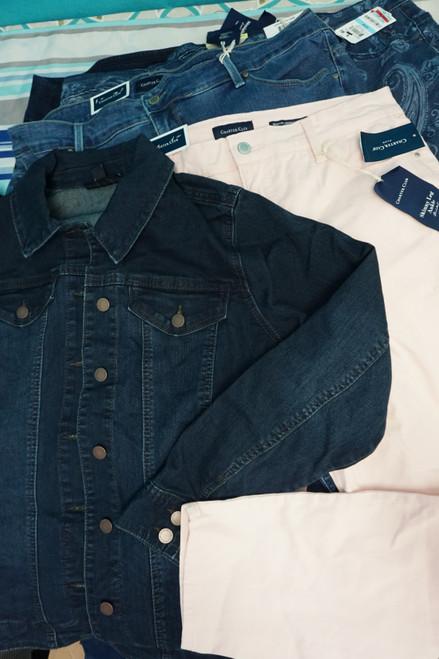 13pc Plus Size CHARTER Jackets JEANS Pants #24290Q (V-4-2 )