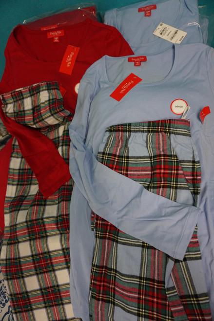 23 SETS = 46pc M*CYS Womens Family PJ Holiday Pajamas DUPLICATES #24334T ( Z-10-3)