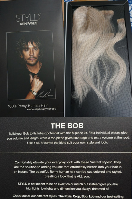 16pc $206 KEN PAVES Real 100% Remy Hair WIGS #24382Y  (Y-9-5)