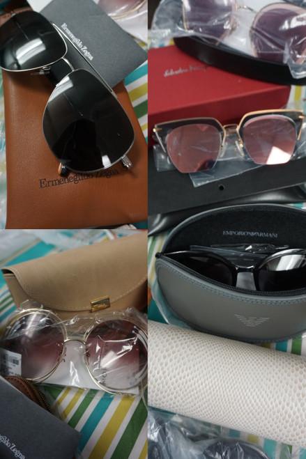 10prs Sunglasses ZEGNA Ferragamo ARMANI Chole #24387Y ( Z-7-3)