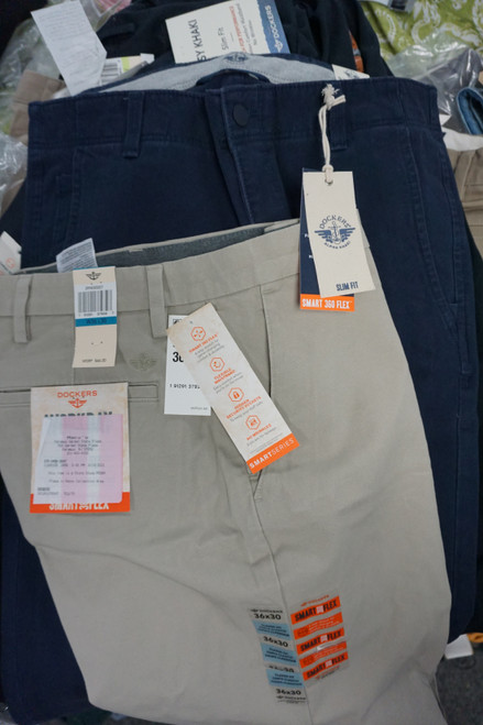 13pc MENS Dockers Pants / Slacks / Khakis #24449B (V-3-4)