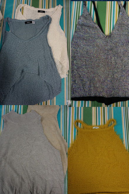 34pc Urban Outfitters Womens Tank Tops #24469d (b-8-6 )
