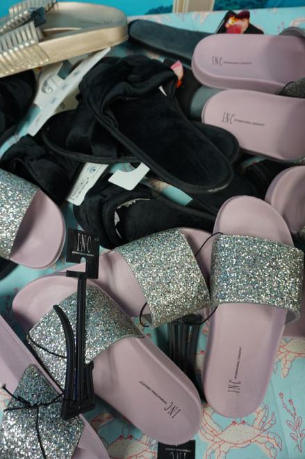 16prs Womens INC & Charter Sandal Slippers Assortment #24494F (Y-9-4)
