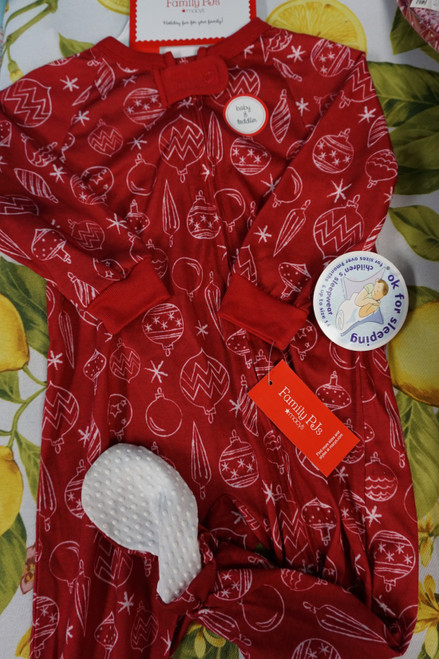 20pc Baby M*CYS Family PJs Sleepers 12 MONTHS #24570K ( v-2-4)